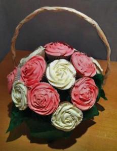 valentine bouquet cupcakes 72